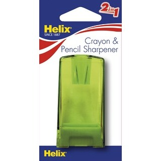 Helix Pencil and Crayon Canister Sharpener