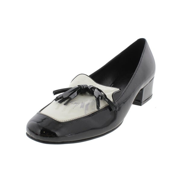 Marc Fisher Womens Keisha Loafers Patent Colorblock - 6.5 medium (b,m)