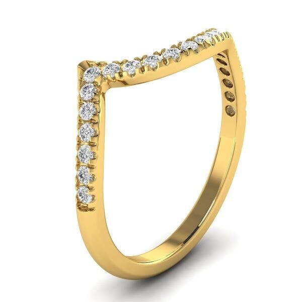 0.28 Carat to 0.36 Carat Diamond Eternity Wedding Band in 10K Gold