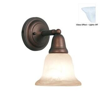 Woodbridge Lighting 50045 Hudson Glen 1 Light Bathroom Sconce