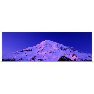 """Washington, Mount Rainier Park"" Poster Print"