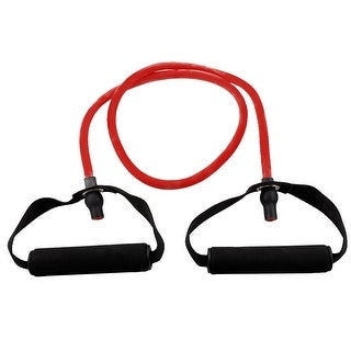 Gym Exercise Rubber Pull Up Training Powerlifting Stretch Resistance Tube Red