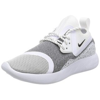 Nike Womens Lunarcharge Essential Low Top Lace Up Running Sneaker