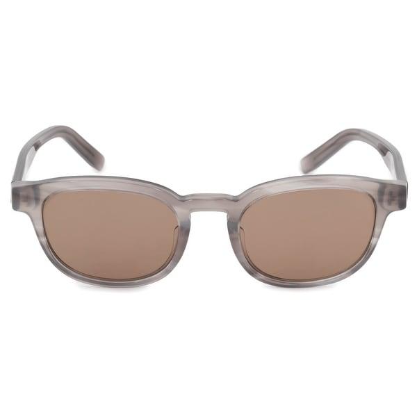30e7e86eb Shop Salvatore Ferragamo Wayfarer Sunglasses SF886S 003 50 - On Sale ...