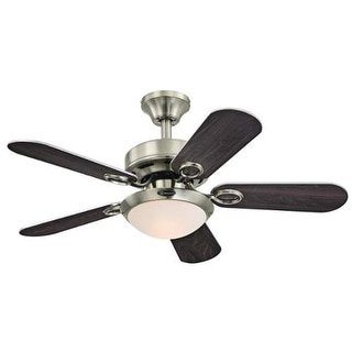 """Westinghouse 7203200 Cassidy 36"""" 5 Blade Hanging Ceiling Fan with Reversible Mot"""