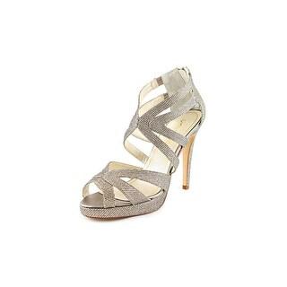 Caparros Priscilla Open Toe Synthetic Platform Heel
