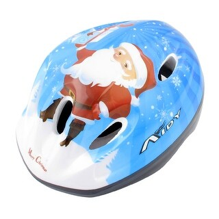 Kids Skateboard Skiing Racing Bicycle Bike Sports Helmet Size S Blue