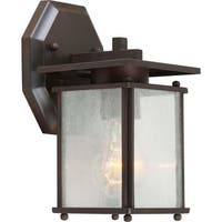 Forte Lighting 1128-01 1 Light Outdoor Wall Sconce