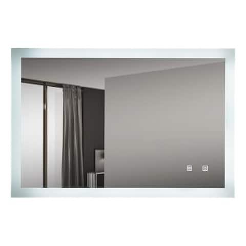 "LED Backlit Bathroom Vanity Mirror CRI90+ - 40""W x 24""H x 1.5""D"