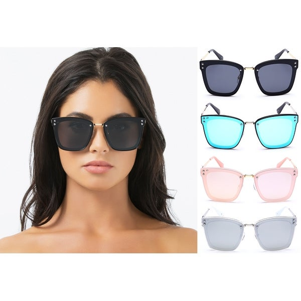 e7cee3bd8d PRIVÉ REVAUX The Nasty Woman Handcrafted Designer Polarized Futuristic  Sunglasses For Women