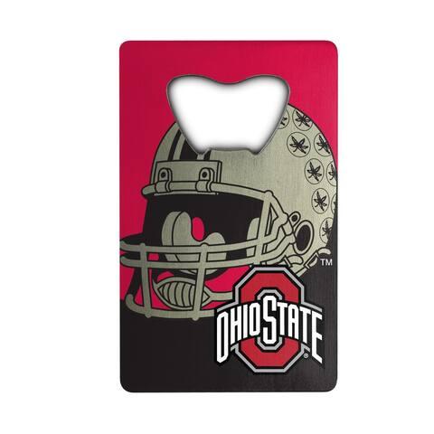 Ohio State University Metal Credit Card Bottle Opener - 2in. X 3.25in.