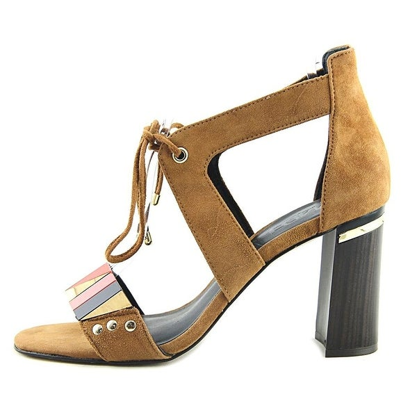 M4DE Womens Brazillian Leather Open Toe Casual Ankle Strap Sandals - 10