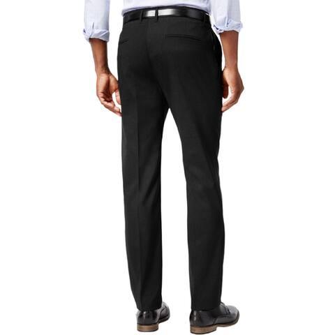 Kenneth Cole Men's Stretch Athleisure Slim-Fit Dress Pants,Black,34x30 - 34x30