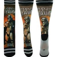 Star Wars Captain Phasma Photoreal Crew Socks