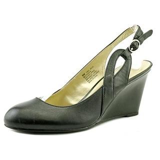 Bandolino Tesova Women Open Toe Leather Wedge Heel