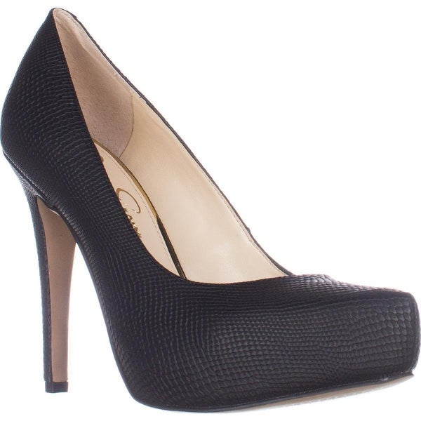 Jessica Simspon Parisah Hidden Platform Heels, Black