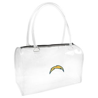 Little Earth Productions San Diego Chargers Clear Bowler Bag