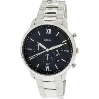 Fossil Men's Neutra Chronograph FS5384 Silver Stainless-Steel Fashion Watch