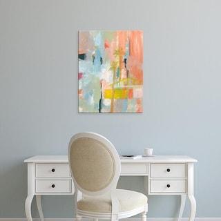 Easy Art Prints Jan Weiss's 'Desert Living 1' Premium Canvas Art