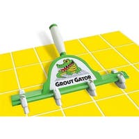 Grout Gator Cleaning Brush Head With 4 Brushes
