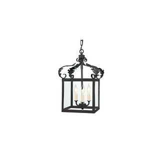 JVI Designs 3011 3 light Foyer Pendant from the Scroll collection