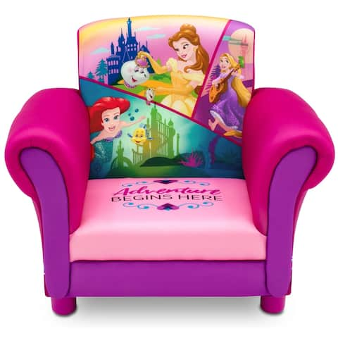 Princess Upholstered Chair by Delta Children