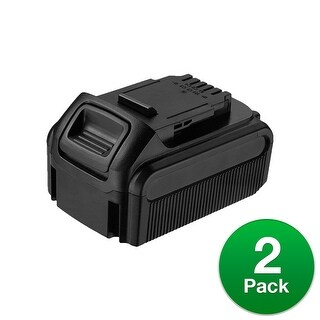 Replacement Battery For DeWalt DCF894HB Power Tools - DCB205 (5000mAh, 20V, Lithium Ion) - 2 Pack