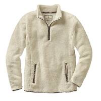 Legendary Whitetails Ladies Fuzzy Hide Fleece 1/4 Zip - winter heather