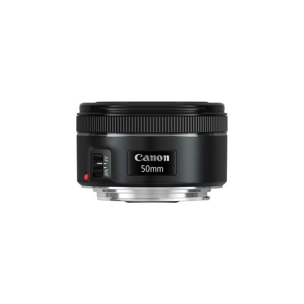 Canon Fixed Focal Lens for EF Canon 50 mm f/1.8 Fixed Focal Length Lens for Canon EF - Designed for Camera - 49 mm Attachment -