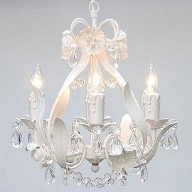 Swarovski Crystal Trimmed Chandelier Lighting Wrought Iron Floral Chandelier Lighting Crystal