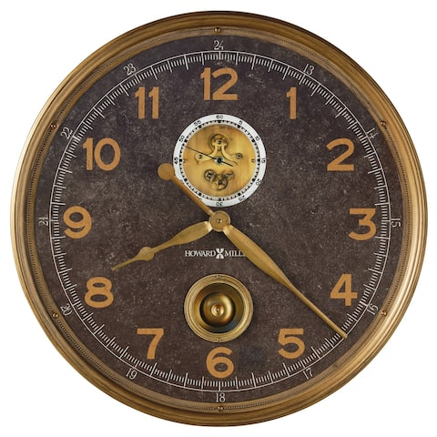 Howard Miller Saunders Gallery Wall Clock