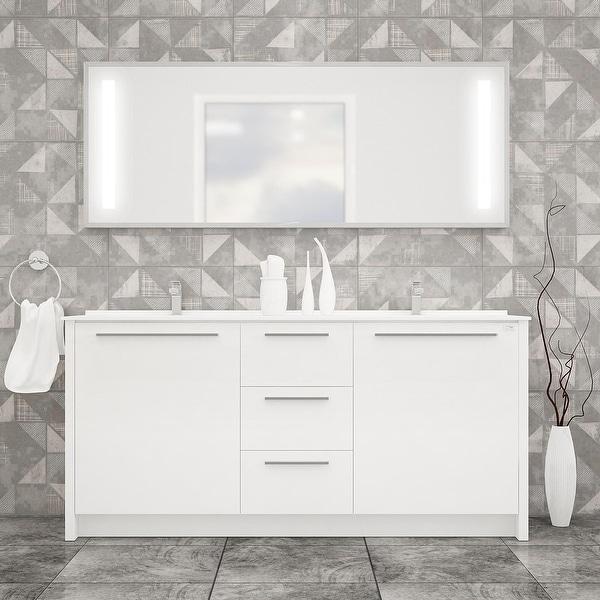 Nona 60-inch Modern Freestanding Bathroom Vanity. Opens flyout.