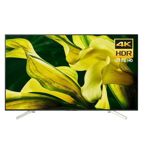"Refurbished Sony 75"" Class 4K Ultra HD (2160P) HDR Smart LED TV with X-Reality PRO and Android TV (KD-75X780F) - Black - 75"