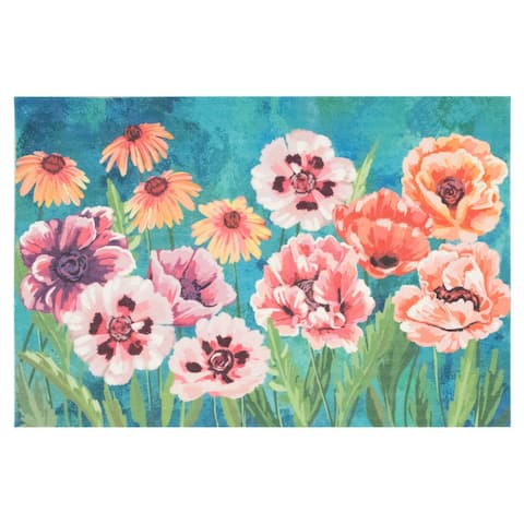 Liora Manne Illusions Dream Garden Indoor/Outdoor Mat