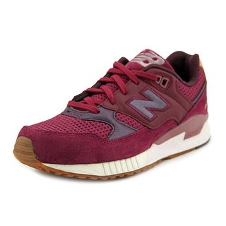 New Balance W530 Women Round Toe Suede Sneakers