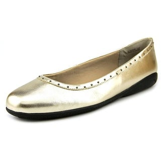 Walking Cradles Fever   Round Toe Leather  Flats
