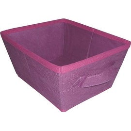 Homebasix 05000951P Storage Bin, Purple