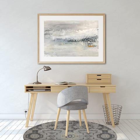 MAHAL IVORY Office Mat By Kavka Designs