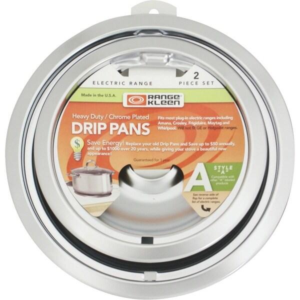 """Range Kleen 2Pk 6""""&8"""" Drip Pan"""