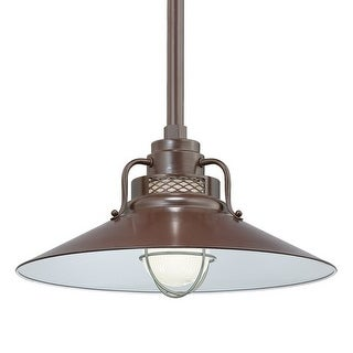 "Millennium Lighting RRRS18 R Series 1 Light 18"" Wide Outdoor Shade"