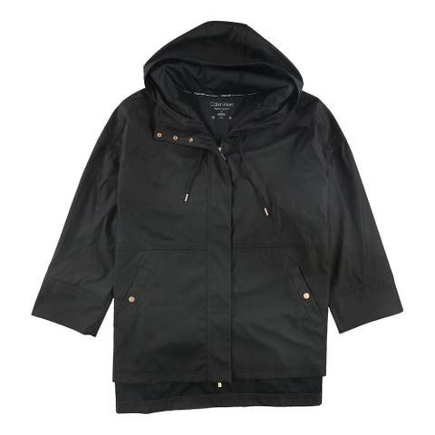 Calvin Klein Womens Crossover Jacket