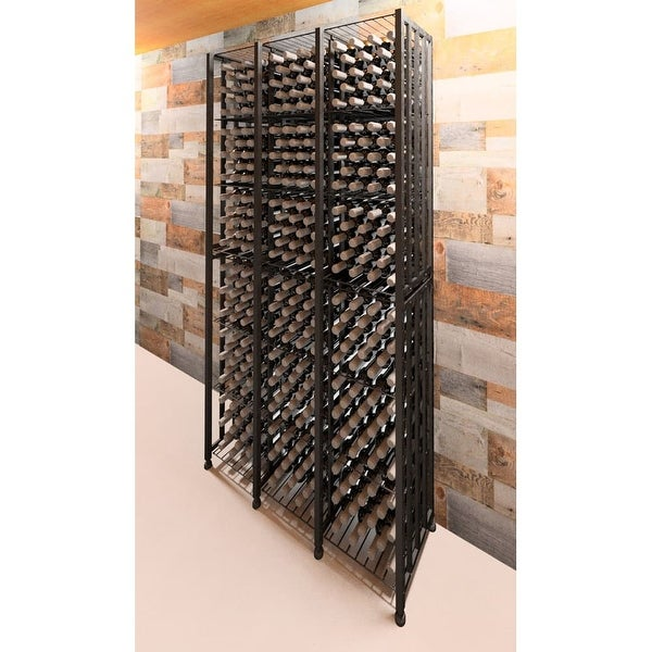 VintageView CC-BIN-T3-K Case and Crate 288 Bottle Capacity 7 Foot Tall Free Standing Wine Bin