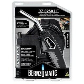 Bernzomatic 2880270 Trigger Start Hose Torch, Solid Brass