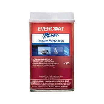 Evercoat 100553 Premium Marine Resin, 1 Quart