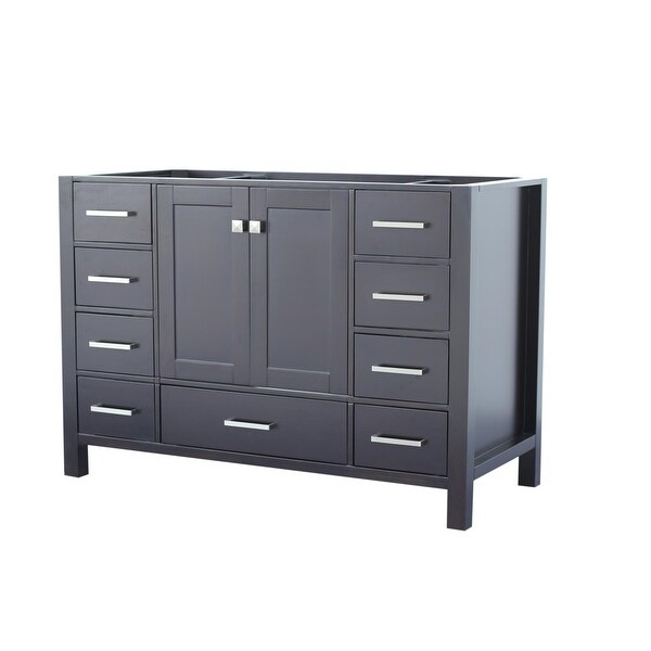 """Ariel A043S-BC Cambridge 42"""" Single Free Standing Vanity Cabinet Only"""