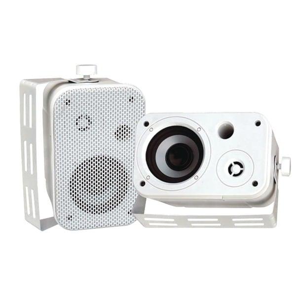 """PYLE PRO PDWR30W 3.5"""" Indoor/Outdoor Waterproof Speakers (White)"""
