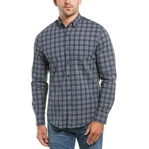 J.Crew Flex Washed Tartan Woven Shirt