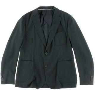 Z Zegna Mens Slim Fit Wool Two-Button Blazer - 44R