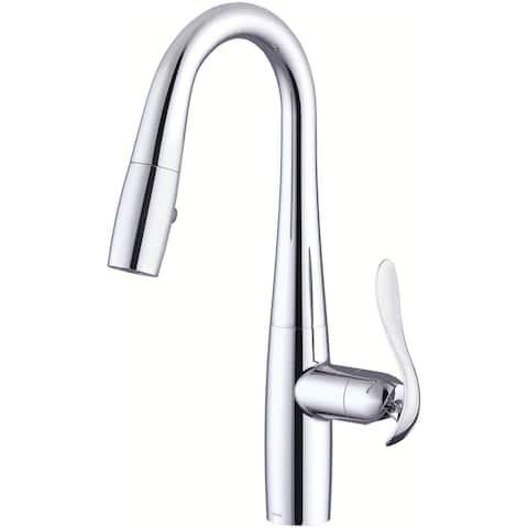 Danze D150511 Selene 1.75 GPM Single Hole Pull Down Kitchen Faucet