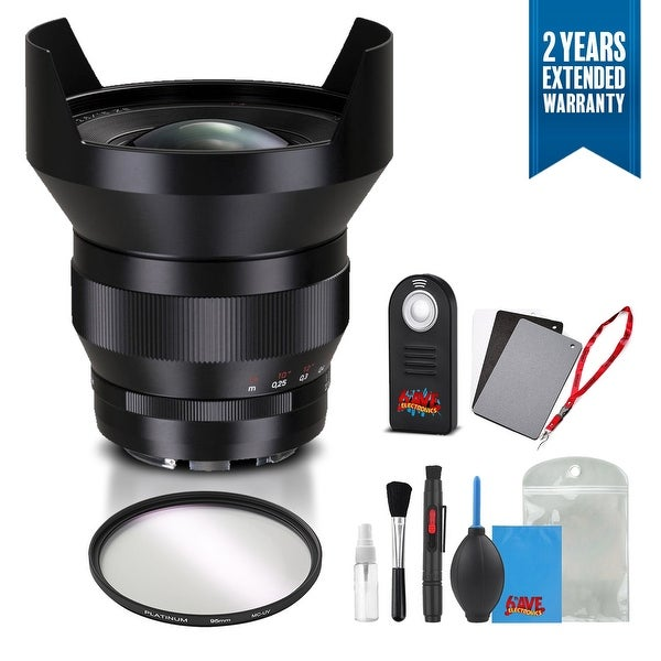 Zeiss Distagon T* 15mm f/2.8 ZF.2 Lens for Nikon - 1964-831 with Cleaning Accessory Kit and 2 Year Extended Warranty